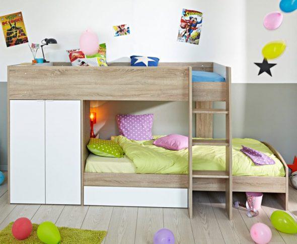 двухъярусная детская кровать икеа