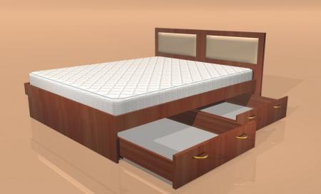 двуспальная кровать Комфорт