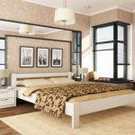 двуспальная кровать из МАССИВА дерева КАМА