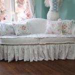 еврочехлы на диваны белые