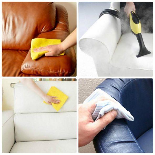 химчистка мебели дома