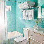 идеи полок для полотенца для маленьких ванных