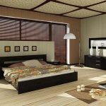обустройство спальни в стиле