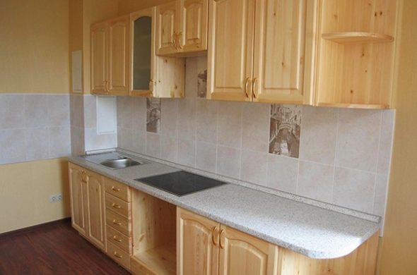 оптимальное решение – сделать кухню из мебельных щитов своими руками