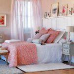 полки над кроватью дизайн