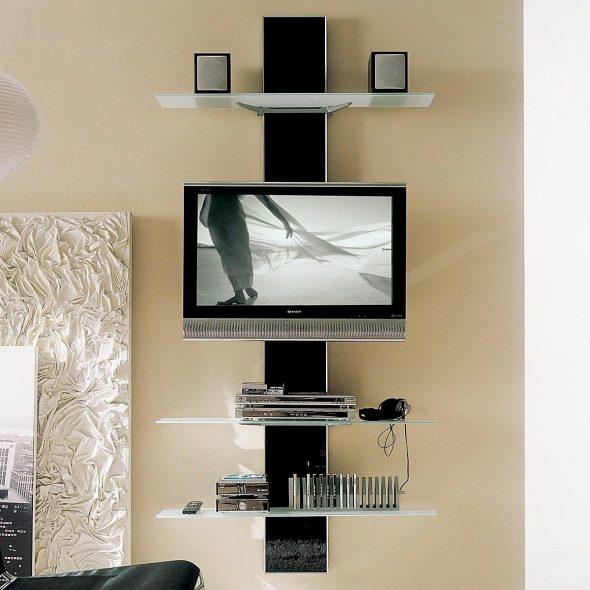 полка на стену для телевизора
