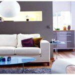 полка -ниша над диваном