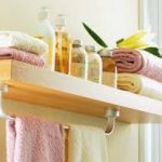 практичная полочку в ванную