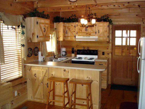 процесс конструирования кухни своими руками из мебельных щитов