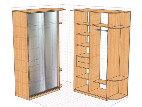 проект будущего шкафа