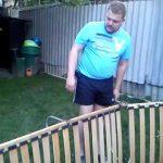 раскладушка для сада