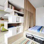 расставить мебель в однокомнатной квартире фото