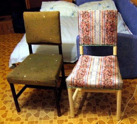 реставрация стульев своими руками фото