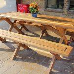 садовая мебель - стол и скамейки