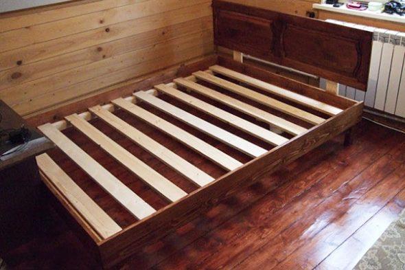 сделать каркас для кровати самостоятельно