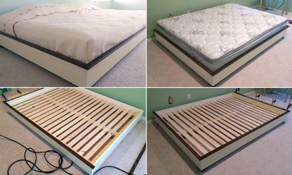 сделать кровать своими руками - от выбора материалов до готового изделия