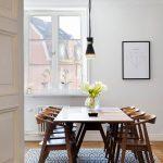 деревянный стол скандинавский