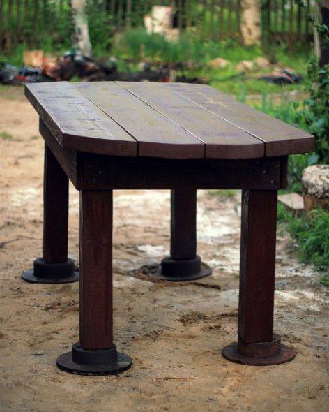 стол для дачи своими руками фото