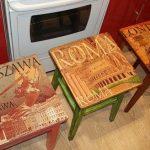 Декор старых стульев