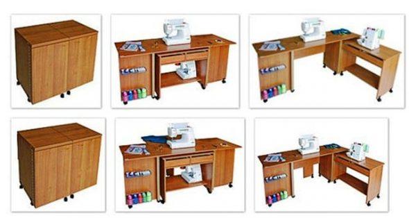 Дизайн швейных столов