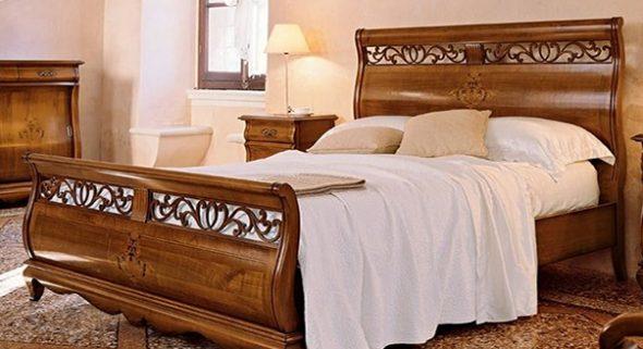Фигурное изголовье для кроватей