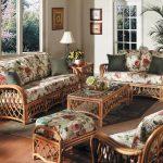 Изящность плетеной мебели