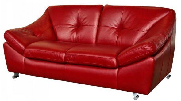 Кожаный диван Мичиган