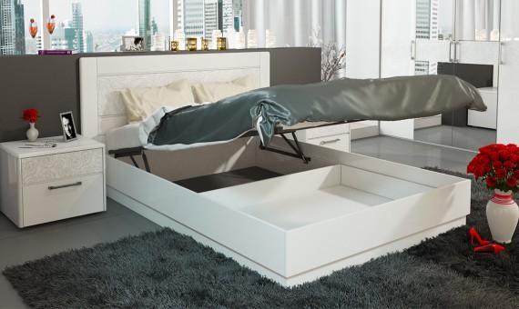 Кровать Амели с подъемным механизмом СМ-193.01.002 160