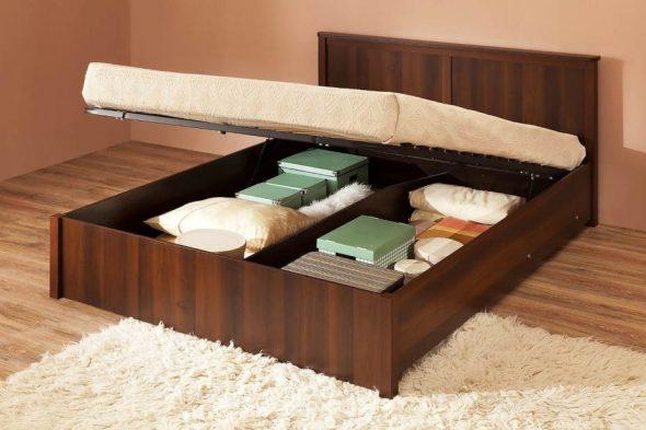 Кровать Шерлоцк 41.2 с подъемным механизмом 180