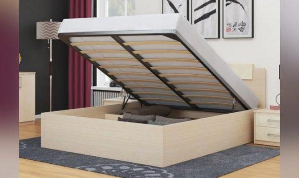 Кровать Соната 1400 х 2000 с подъемным механизмом