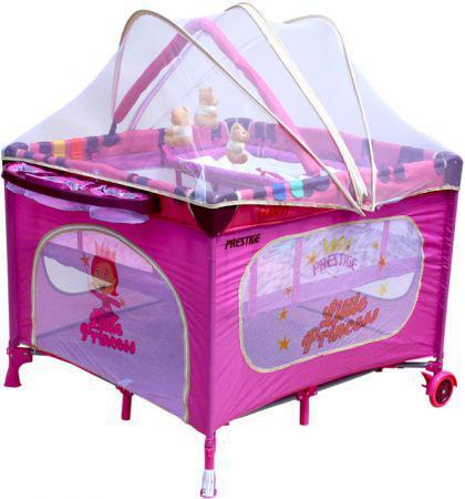 Кровать-манеж Arti LUXURY NEW_Little Princess Red Purple