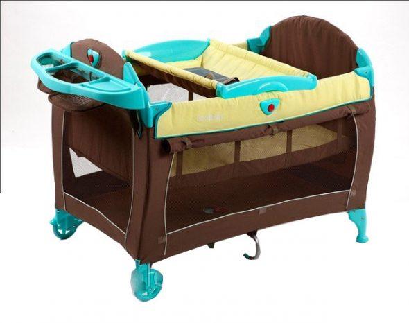 Кровать-манеж-пеленатор Н067