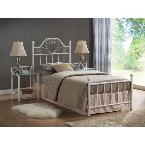 Кровать односпальная Лима из металла, 90х200