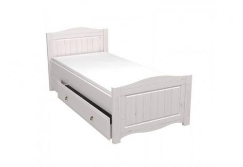 Кровать односпальная Милано с выкатным ящиком (90х200 см)