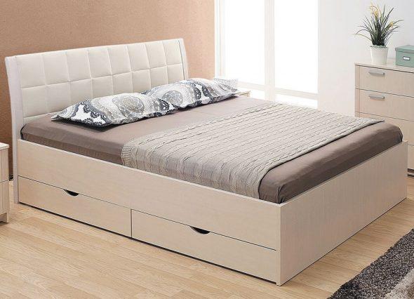 кровать с ящиком для белья