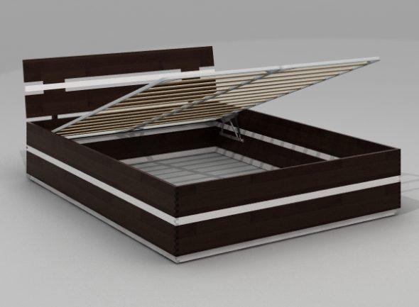 Кровать с подъемным механизмом 2000х1600 мм