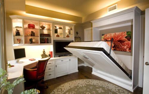 Кровать с подъемным механизмом-плюси