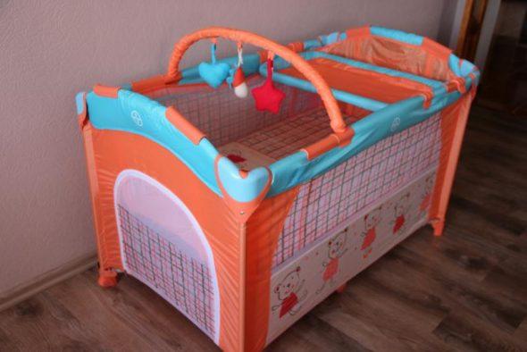 Манеж-кровать Bebe Planete Slip & Play