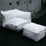 Мебель из необычных материалов для дома