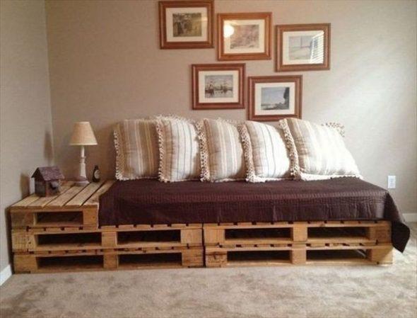 Мебель из старых деревянных ящиков