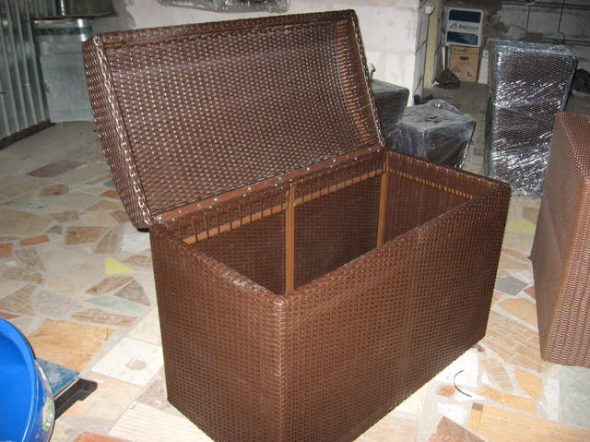 Мебель своими руками из искусственного ротанга