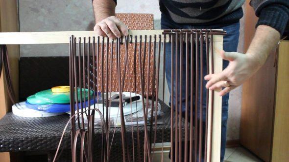 Наглядный пример плетения