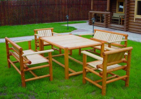 Основные особенности и преимущества садовой мебели