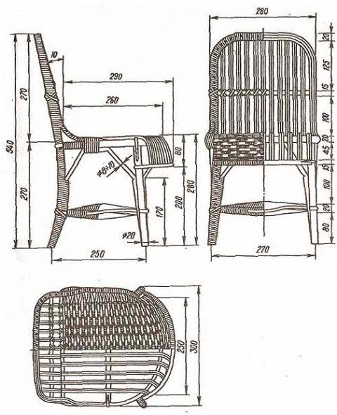 Плетеная мебель 1