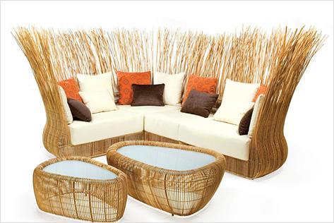 Плетеная мебель своими руками-дизайн