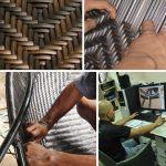 Плетение мебели из искусственного ротанга своими руками фото