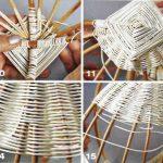 Плетение ротанг схемы
