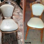 Реставрация деревянного каркаса стула