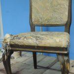 Реставрация стульев 50-60х годов
