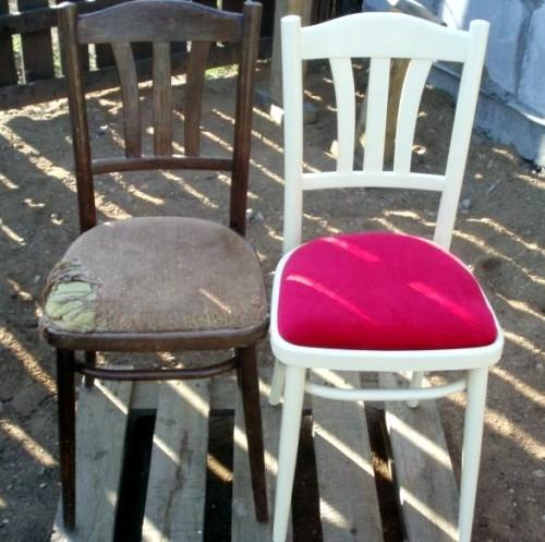 Реставрация стульев своими руками-змена сидения